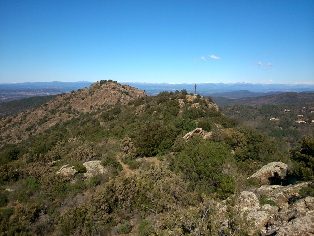 View from La Garde Freinet by C. E. Ayr