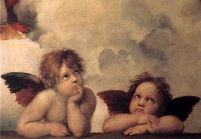 Cherubs by Michelangelo